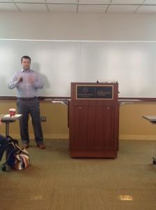 Mitch teaching at Northwestern