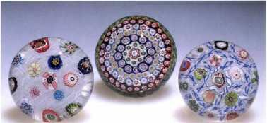 3.9 Antique Clichy weights