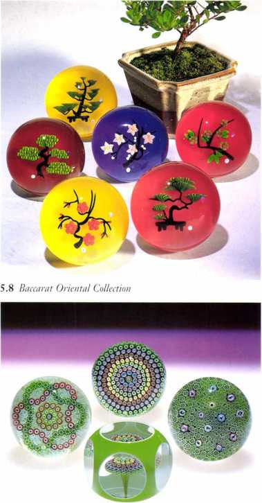 5.8 Baccarat Oriental Collection