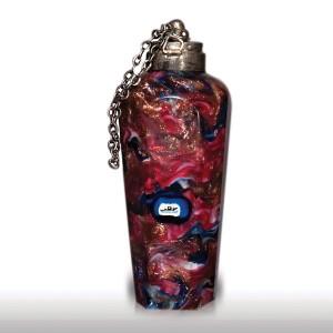 Lot 11 Antique Venetian Franchini vertical scent bottle