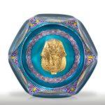 Saint Louis King Tutankhamen gold