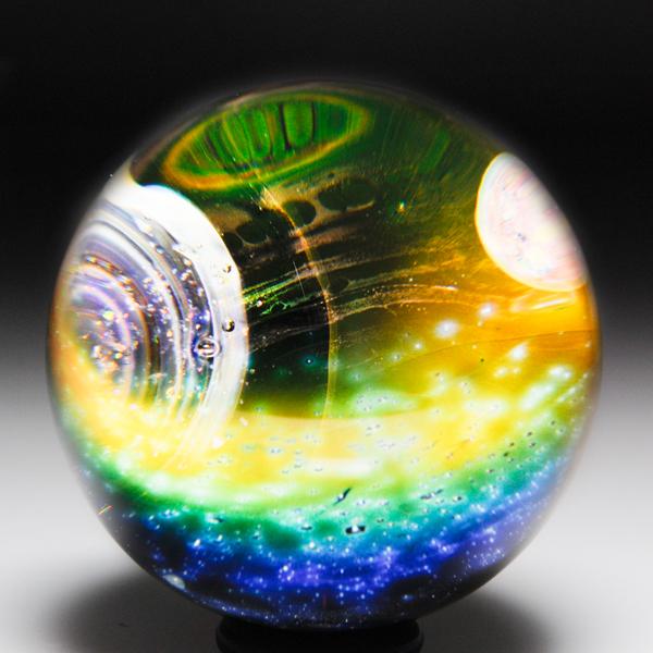 Gateson Recko 2004 solar system marble.
