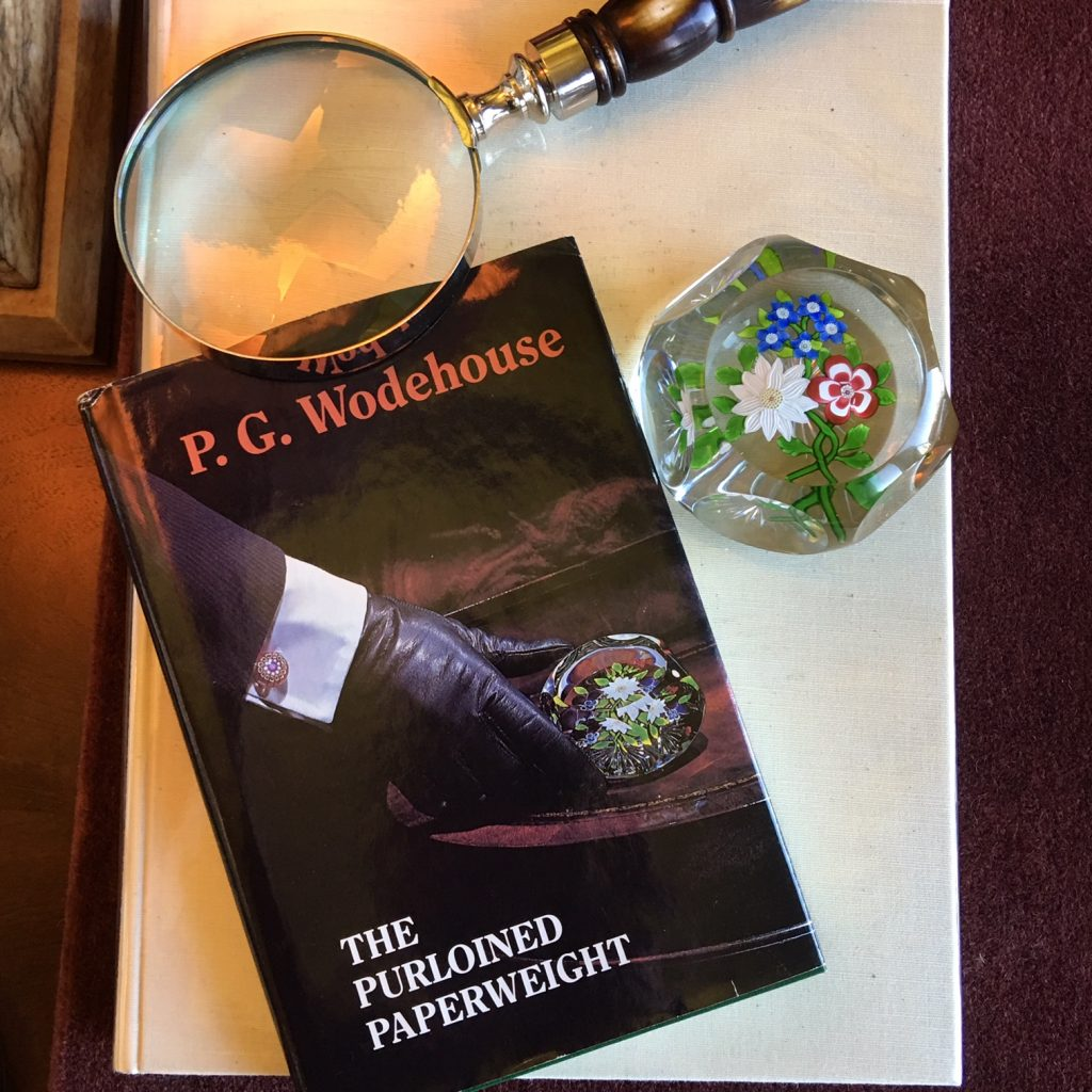 P. G. Wodehouse | Glass Paperweight