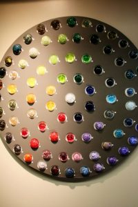 Glass color Wheel of Fortune