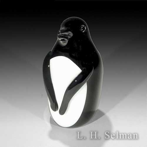 Orient & Flume 'Penguin' black & white penguin weight by Orient & Flume