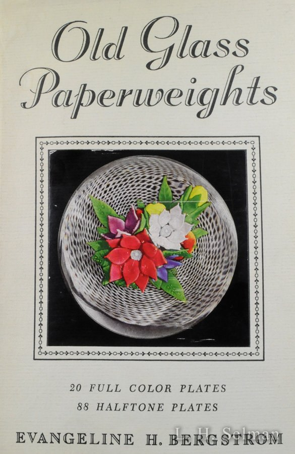 Old Glass Paperweights, by Evangeline H. Bergstrom (Hardcover). by all Books