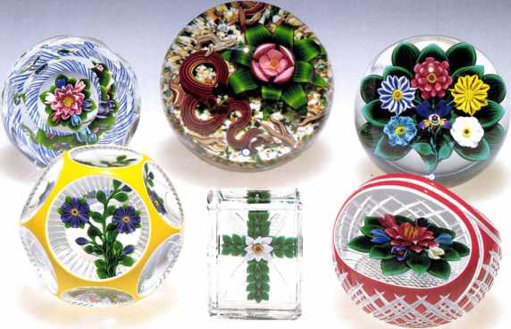 Chapter v the glass gallery blog rays paperweights include bouquets of lampwork irises lilies of the valley and morning glories as well as paperweight style buttons and pendants mightylinksfo