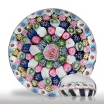 Lot 20 Antique Clichy close concentric millefiori paperweight