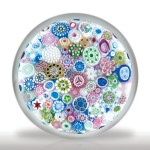 Lot 237 Jim Brown 2004 close packed millefiori paperweight