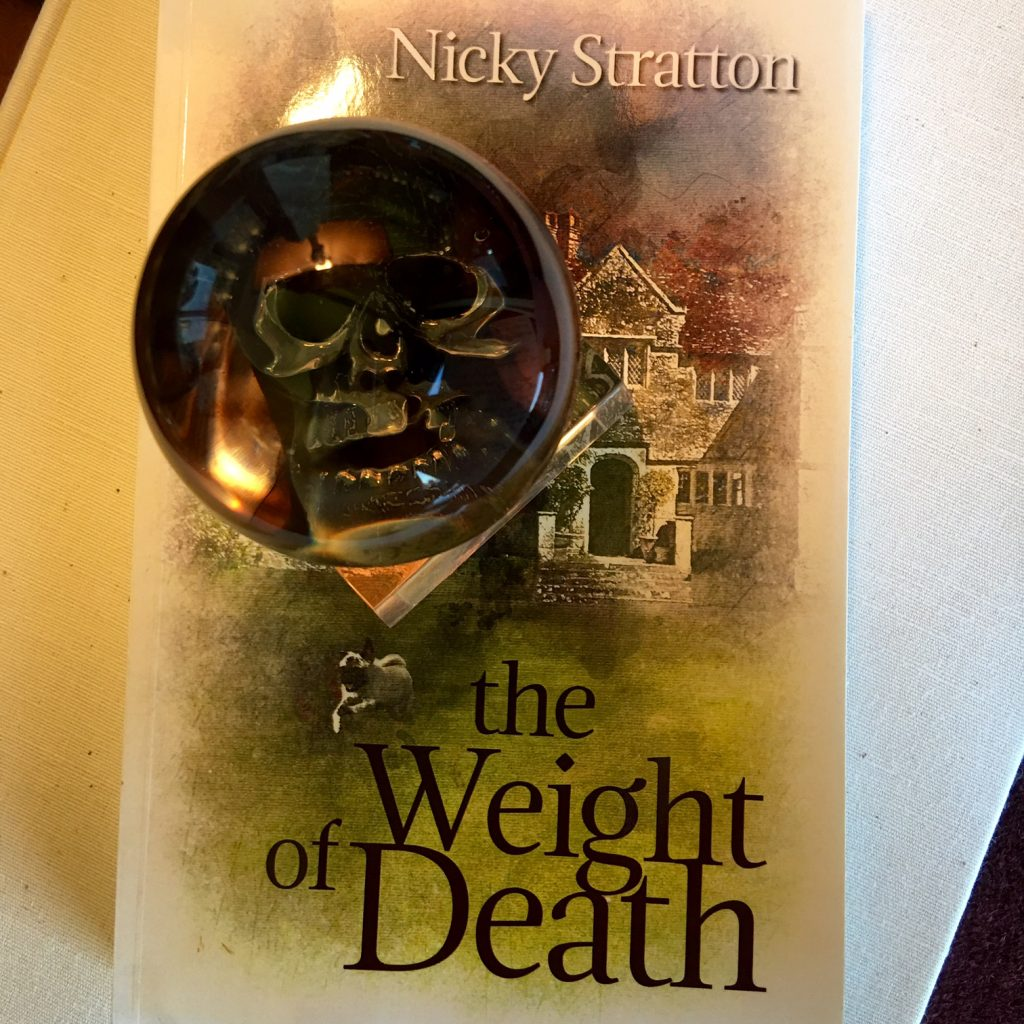 The Weight of Death   Glass Paperweight