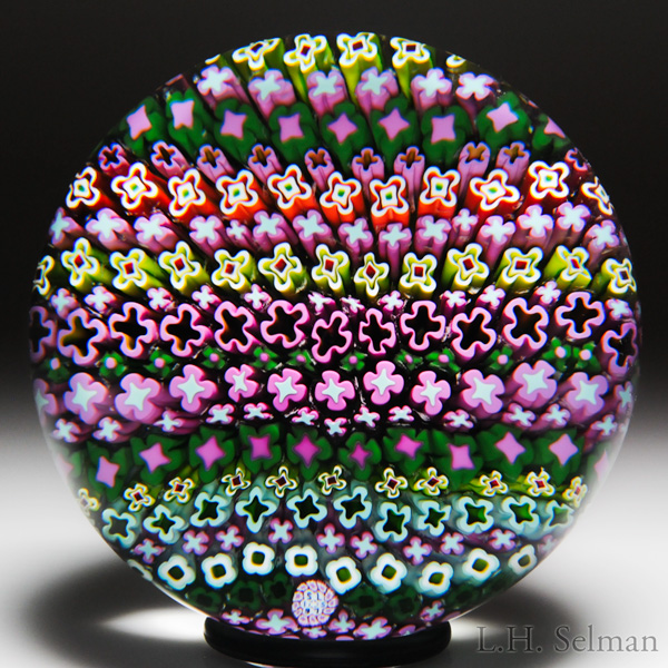 "Saint Louis 1975 ""Hawaiian Millefiori"" Paperweight"