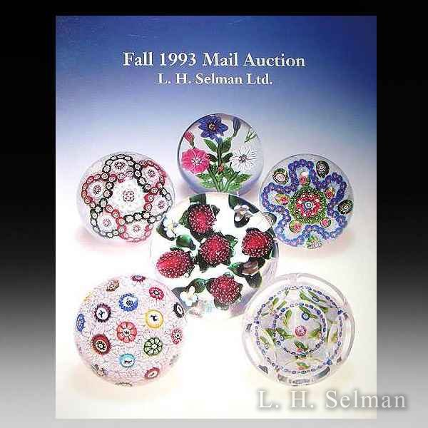 L. H. Selman Ltd. 1993 Fall Auction Catalog. by all Books
