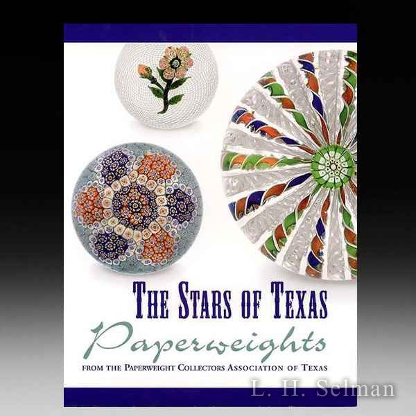 THE STARS OF TEXAS (hardcover) Paperweights from Texas PCA by all Books
