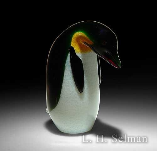 Orient & Flume 'Emperor Penguin' with curved neck by  Orient & Flume