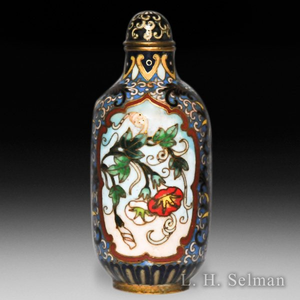 Antique enameled opium bottle. by  Misc Antique