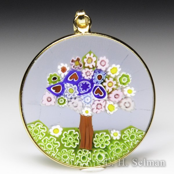 Antica murrina veneziana murrano glass millefiori multi colored antica murrina veneziana murrano glass millefiori multi colored tree pendant by misc modern mozeypictures Choice Image