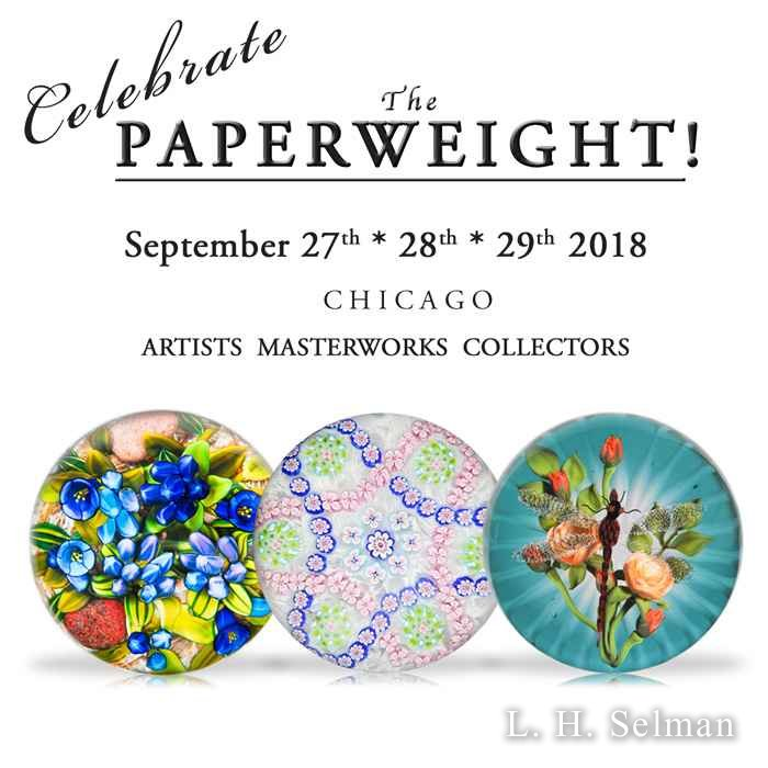 Weekend Pass 2018 'Celebrate The Paperweight'. by L.H. Selman Ltd.*