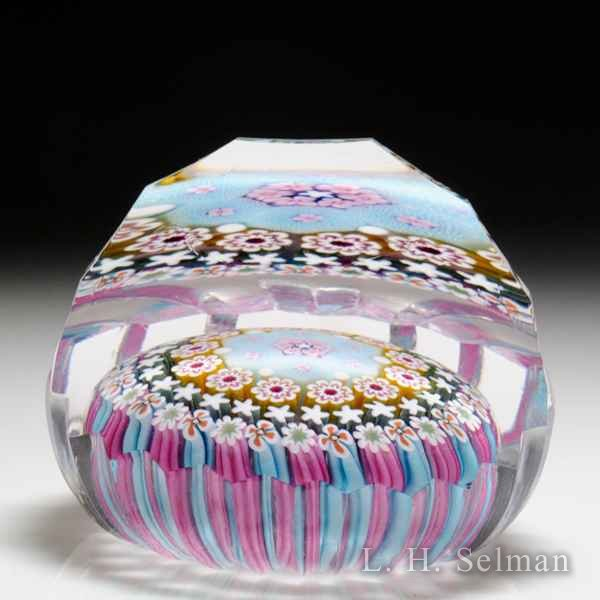 Damon MacNaught 2018 flower basket glass paperweight. by Damon MacNaught