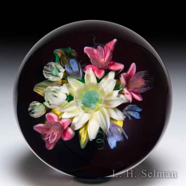 Melissa Ayotte 2018 dahlia bouquet paperweight. by Melissa Ayotte