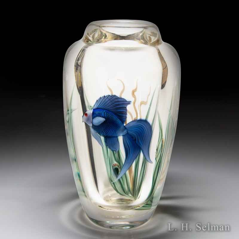Orient & Flume beta fish vase, Scott Beyers. by  Orient & Flume